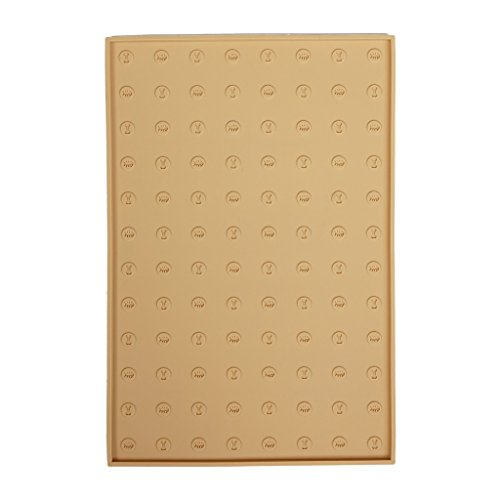 WooPet! Pet Food Mat 24''x16'' Tan Extra Large, Premium Silicone Food Safe Cat or Dog Feeding Mat by WooPet! (Image #2)