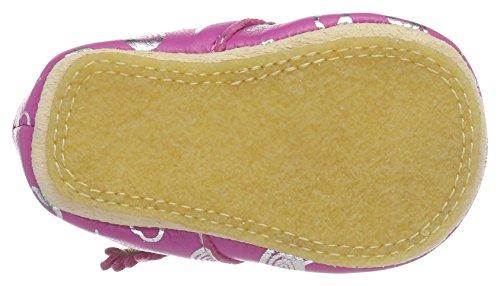 Easy Peasy Kiny Sweety - Zapatillas de casa Bebé-Niños Pink (fushia/argent)