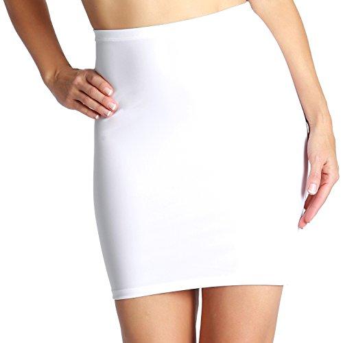 0961b793cfc1a InstantFigure Women s Shapewear Slip Skirt