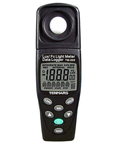 SSEYL TM-203 Datalogging Auto Ranging Light (Datalogging Light Meter)