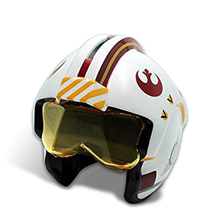 Alcancía/Hucha Star Wars - Casco de piloto X Wing de Luke Skywalker