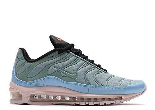 28d12b66a9 Galleon - NIKE Kids Air Max 97 / Plus Mica Green/Barley Rose Size 4