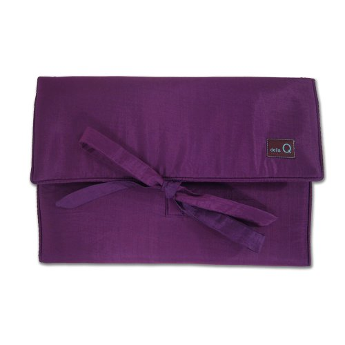 della Q The Que Grand Knitting Case for Circular Knitting Needles; 040 Purple 175-1-040 by della Q