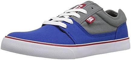 DC Men's Tonik TX Skateboarding Shoe, Grey/Grey/Green, 9 D US