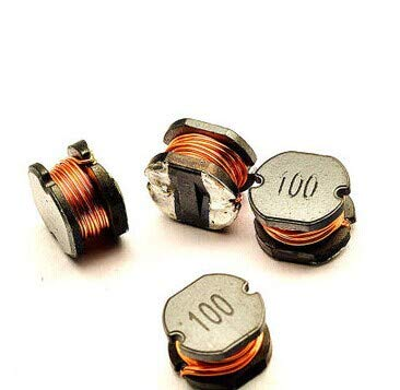 Maslin 1000pcs X SMD Power Inductors CD75 Power inductors 10UH 2.3A SMT Reel Volume: inductors