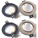 4 pcs 35.5mm Aftermarket Diaphragm for RCF ND1411, RCF ND1410, RCF CD1411 8Ohms