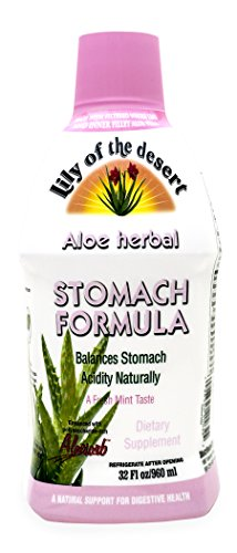 Cheap Lily of the Desert Aloe Herbal Stomach Formula with Antioxidants to Balance Stomach Acidity Naturally, Fresh Mint Flavor, Natural Support for Digestive Health, 32 Fl. Oz.