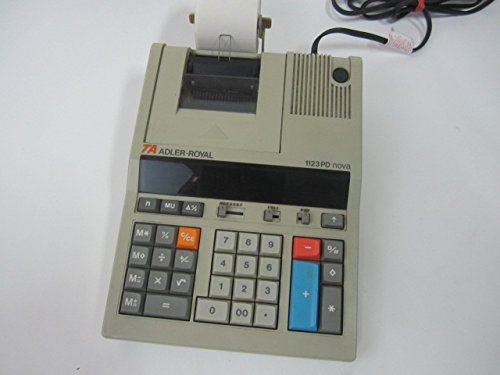 Adler Royal 1123PD nova Printing Calculator