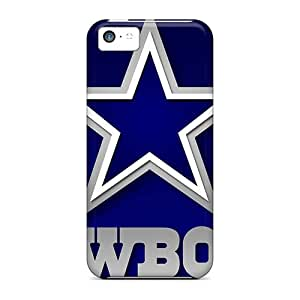 For Anoloy5467 Iphone Protective Cases, High Quality For Iphone 5c Dallas Cowboys Skin Cases Covers
