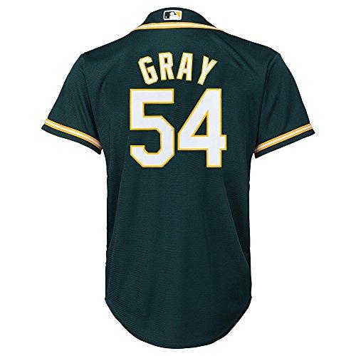 Outerstuff Sonny Gray MLB Majestic Oakland Athletics Alternate Cool Base Jersey Youth S-XL