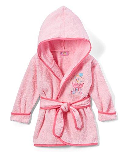 Cakes Baby Sweet (Sweet & Soft Baby Girls Bathrobe Little Cupcake (0/9 Months))