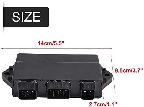 High Performance CDI Box For Yamaha YFM 450 Grizzly//Kodiak 2004-2007 YFM450 OE Repl.# 5ND-85540-10-00