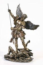 * Sale * - Archangel St Saint Michael Statue Sculpture Magnificent
