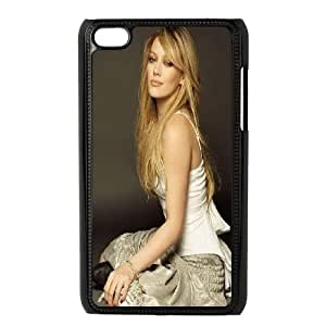 Personalized iPod Touch 4 Case Black Singer Hilary Duff Vpvdv