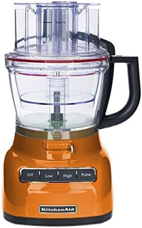 Renewed 8 Tangerine KitchenAid KHB1231TG 2-Speed Hand Blender
