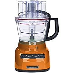 KitchenAid RKFP0930TG 9-Cup Food Processor with Exact Slice System (CERTIFIED REFURBISHED) Tangerine