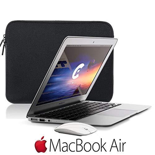 Apple 13.3 Inch MacBook Air 128GB SSD Laptop Computer Starter Bundle {Mid 2017 Version}