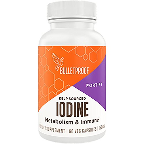 (Bulletproof Iodine, Supports a Healthy Metabolism and Immune System (60 Capsules))