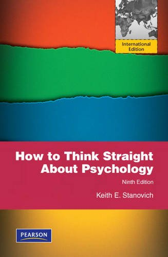 Read Online How to Think Straight About Psychology pdf