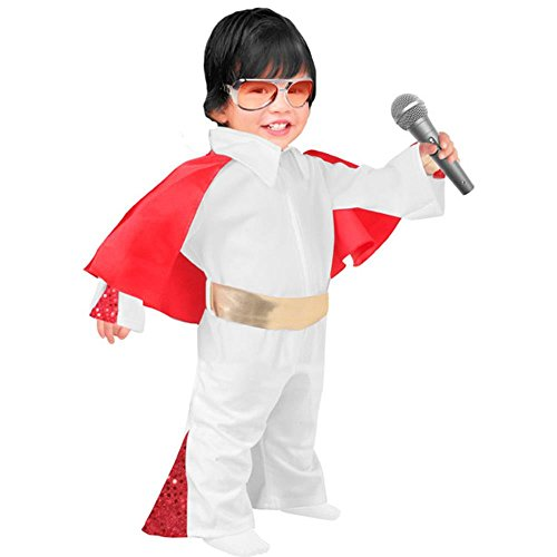 Child's Toddler Elvis Jumpsuit Halloween Costume (3-4T)