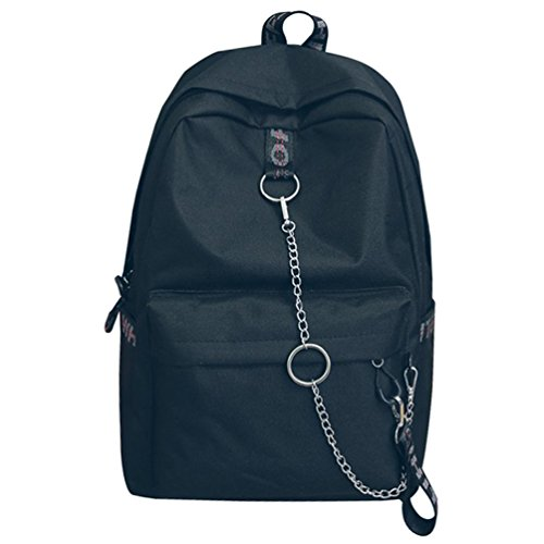 Black Backpacks Print Small Female Bookbags Women's 1 Backpack Travel CHENYANG Casual Backpack Daypack Backpack C5xR7w