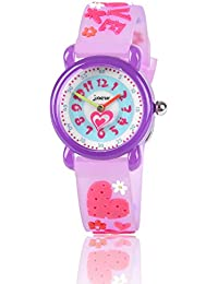 MICO Kids Waterproof Watch, 3D Lovely Cartoon Watch for...