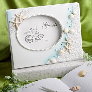 Beach Theme Wedding Guestbook: 'Finishing Touches', 12