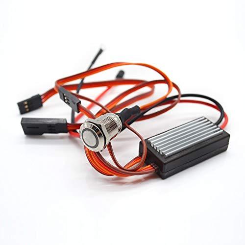 Glow Plug Driver - 1 Set On Board Glow System Ignition Drive Glow Plug Driver for RC Nitro Airplane Model