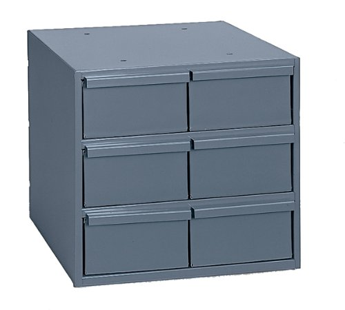 Durham 001-95 Gray Cold Rolled Steel Vertical Storage Cab...