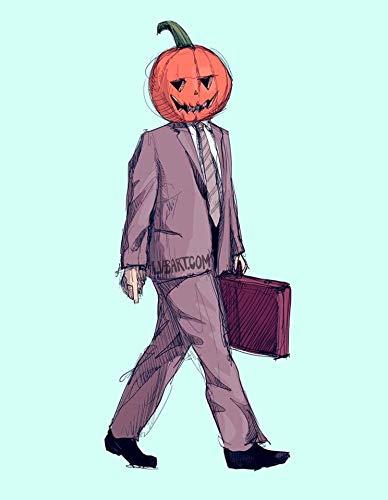 Pumpkin Dwight Fine Art Print -