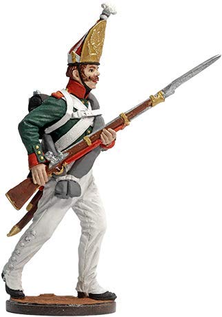 Nap-67-color Grenadier of Grenadier Regiment Tin Toy Soldiers Metal Sculpture Miniature Figure Collection 54mm Scale 1//32 Tin Army
