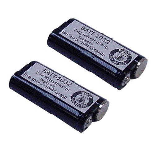 Cordless Phone Battery Combo-Pack includes: 2 x BATT-1032 Batteries ()