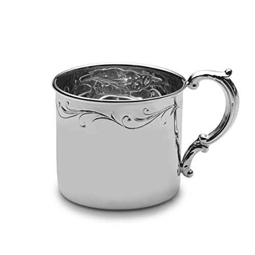 Empire Floral Sterling Baby Cup by EMPIRE