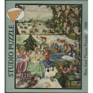 Studio Puzzle the Twelve Day of Christmas