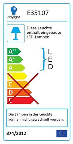 Daylight Company D35107 5 Watt Led Slimline Table Lamp