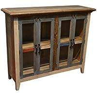 Crafters & Weavers Bayshore 4 Door Curio Cabinet