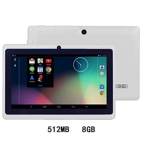 Lunir 7-Inch HD Touch Screen Children Tablet PC Quad-Core 512MB 4/8GB Dual Camera Tablets