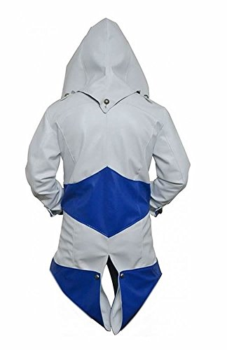 White Classyak para Chaqueta And Sheep hombre de Creed Blue Assassins xqfP0wxBr