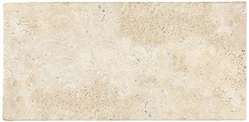 Dal-Tile T72036TS1P Travertine Tile Baja Cream Tumbled 12 x 12