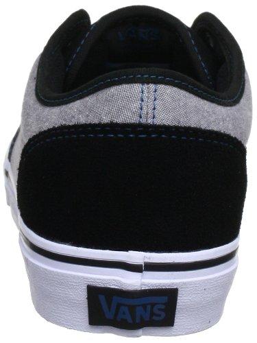 Vans M ATWOOD (TEXTILE) BLACK - Zapatillas de cuero hombre negro - Schwarz ((Textile) black)