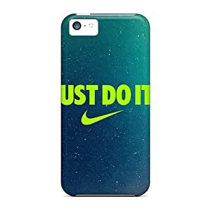 For DebbieBrown Iphone Protective Cases, High Quality For Iphone 5c Just Do It Skin Cases Covers