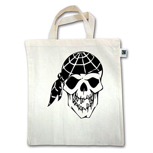 Piraten & Totenkopf - Skull - Unisize - Natural - Xt500 - Manico Corto In Juta