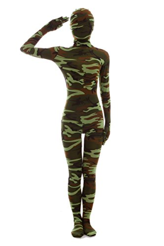 - 41 z1E6Ch5L - Nedal Women's Camouflage Zentai Lycra Bodysuit Spandex Halloween Onesie