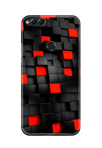 huge selection of d6bc0 bd26d Hupshy Printed Back Cover for Honor 7 - Multicolor