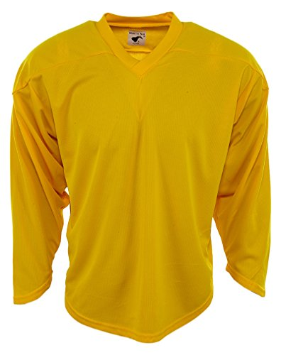 Pear Sox Air Mesh Hockey Jersey Big Kids Style: RN92856Y-YELLOW Size: S/M