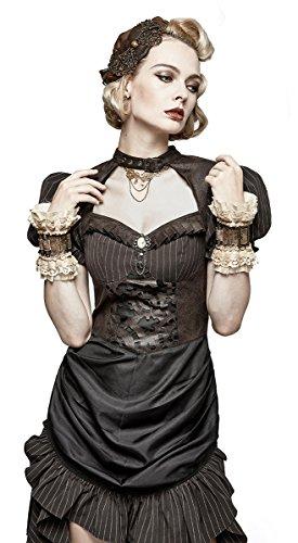 Punk Rave Damen Kleid Braun 3Z8uEB