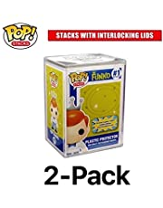 Funko From POP STACKS 2-PACK - The #1 Selling Hard Plastic Protector Case for Regular Size Pop Boxed Figures