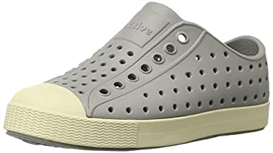 Native Jefferson Slip-On Sneaker,Pigeon Grey,4 M US Toddler