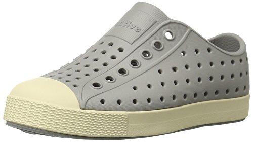 Native Jefferson Slip-On Sneaker,Pigeon Grey,10 M US (Kids Shoes Girls Shoes)