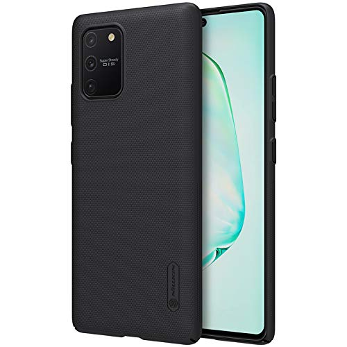 Nillkin Case for Samsung Galaxy S10 S 10 Lite (6.7″ Inch) Super Frosted Hard Back Cover PC Black Color